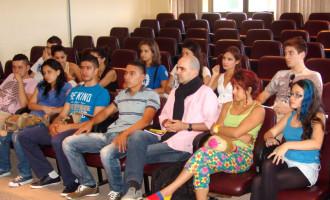 Colombianos fazem intercâmbio cultural na UFPel