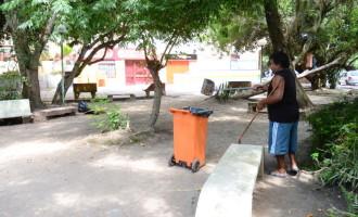 Lixo depositado irregularmente preocupa Sanep