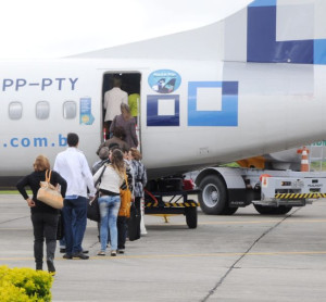Ponte aérea POA-Pelotas-Montevidéu estão no projeto da Azul