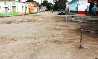 Pavimentação da Barão de Mauá é questionada por moradores