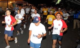 Corrida noturna no Cassino