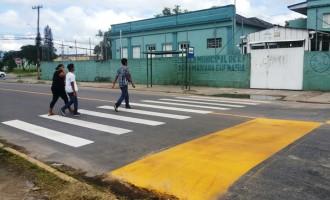 SGMU: faixas de seguranças estão sendo revitalizadas