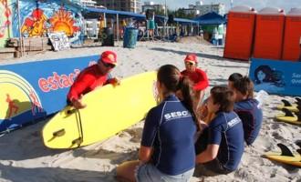 SESC – LITORAL SUL : RecreArte é atração na praia do Laranjal