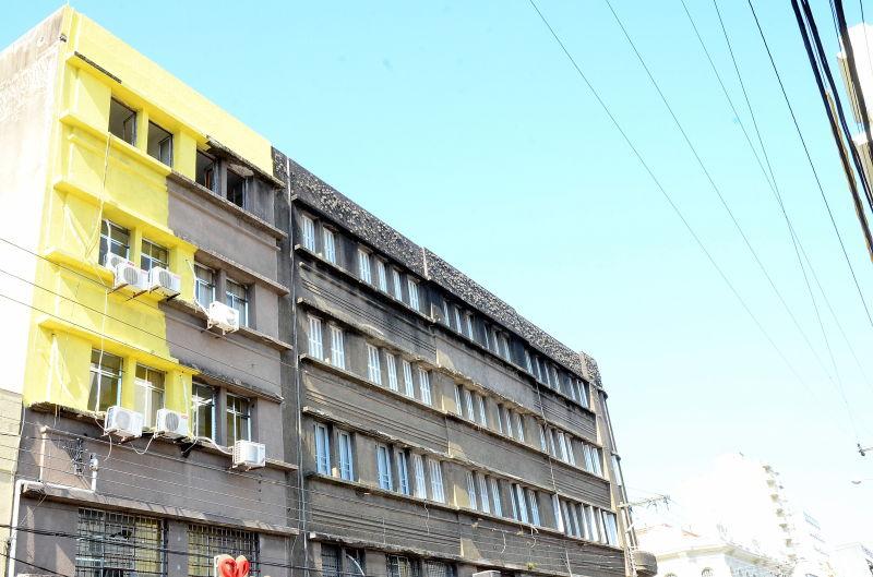 VERDU & Martins estranha posição do Poder Público em relação ao prédio que se encontra em estado precário  FOTO:  Eduardo Beleske/Especial DM