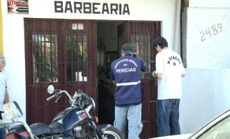 Segurança é morto a tiros dentro de barbearia