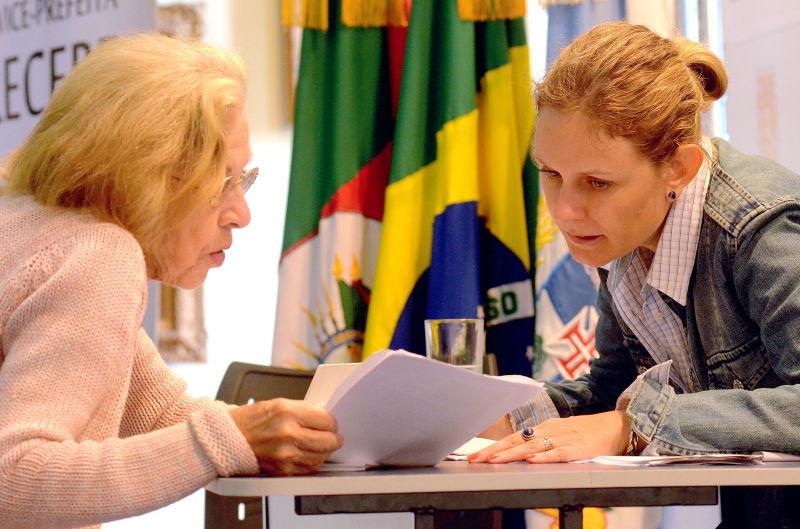 Durante o encontro, Paula se inteirou de diversas demandas da população
