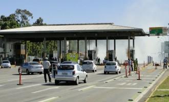 PEDÁGIO : Liminar impede manifestação