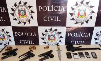 Foragidos da Justiça são presos em assentamento em Piratini