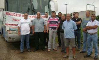 Protesto dos Rodoviários de Pelotas surte efeito e empresa paga salários atrasados