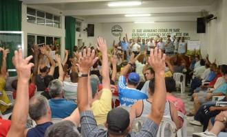 INDICATIVO DE GREVE NO TRANSPORTE COLETIVO