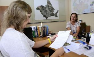 Paula recebe nova diretora do Comdica