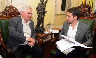 LOTEAMENTO : Eduardo reforça pedido ao vice-governador do Estado