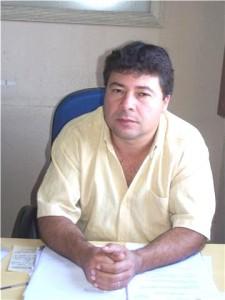 LUCIANO  Viegas, presidente do SindiSaúde, fala em descontentamento da categoria pelo não cumprimento à lei estadual