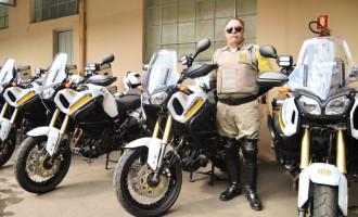 Comando Rodoviário da BM adquire motos