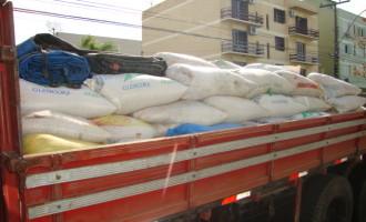 Brigada apreende 12 toneladas de soja furtada