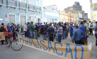 Servidores do Sanep decidem fazer greve : Paralisação inicia a partir do dia 19 de maio