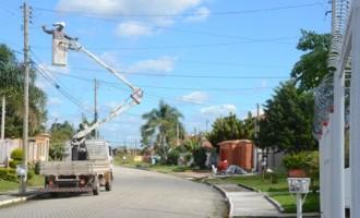 Iluminação pública: Município tem 1,3 mil pontos recuperados em abril