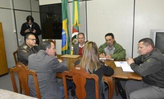 Abigeato é pauta de reunião entre autoridades e BM
