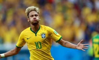 NAS OITAVAS : O show é de Neymar