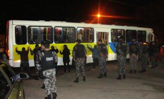 BM prende assaltante de ônibus