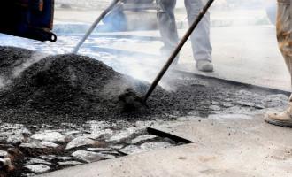 Prefeitura compra 300 toneladas de asfalto para tapa-buracos