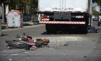 ACIDENTE : Motociclista morre em colisão