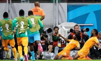 GRUPO C : Costa do Marfim em vantagem