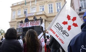 Sai a greve dos municipários