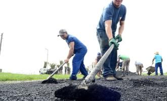 Prefeitura faz operação tapa-buracos no Fragata