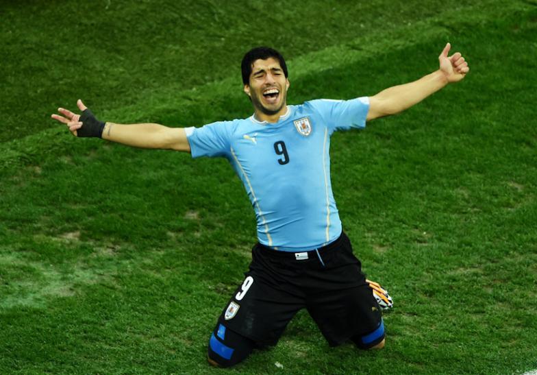 Luis Suárez trouxe de volta a esperança e mística aos uruguaios na Copa do Mundo do Brasil
