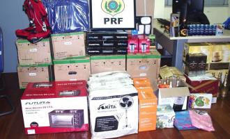 CONTRABANDO : Leilão de mercadorias apreendidas