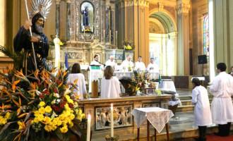 Dom Jacinto saúda Pelotas na festa do Padroeiro São Francisco de Paula