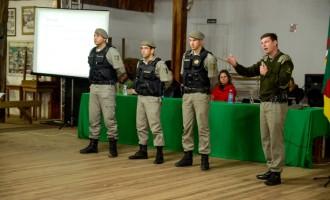 Policiamento Comunitário : Mais segurança para Cohab Lindóia, Santa Teresinha, Py Crespo e Sítio Floresta