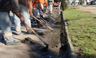 Sosu prossegue com limpeza urbana no Areal