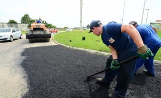 Usina de asfalto chega em 60 dias