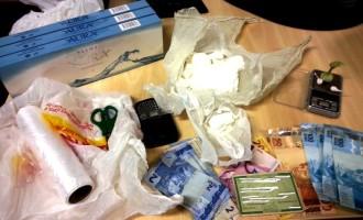 PF e Brigada apreendem drogas e cigarros