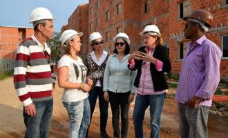 Equipe da SJSS visita obras dos residenciais Amazonas e Roraima