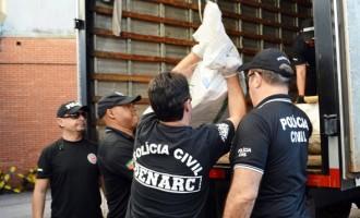 DROGAS : Polícia Civil incinera 2,3 toneladas