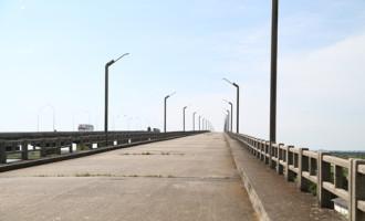 Assaltos frequentes na ponte velha da BR-392