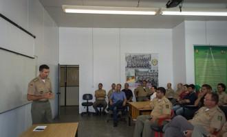 CRPO/SUL : Comandante se reúne com oficiais
