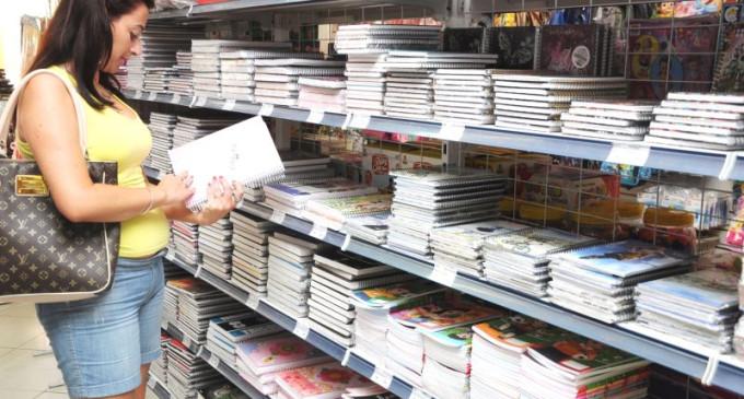 Oito dicas para ajudar os pais na compra do material escolar