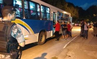 ASSALTOS : BM faz operação em ônibus e táxis