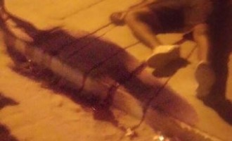 HOMICÍDIO  : Um morto e um ferido em tiroteio na Rua Tamandaré