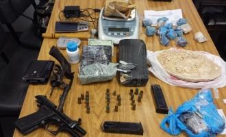 Polícia Civil apreende armas, drogas e munições