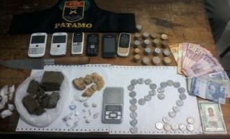 TRÁFICO : Casal é preso no Loteamento Ceval