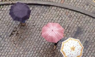 Chuva continua até quinta-feira