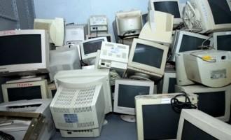 Lixo eletrônico pode ser entregue no Mercado Central