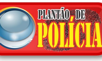 PRISÃO : Ladrão foge mas é baleado após ameaçar com arma