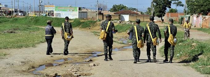 Estado terá 18 mil militares nas ruas combatendo o Aedes