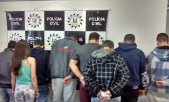 Polícia contabiliza mais de 200 prisões em uma semana